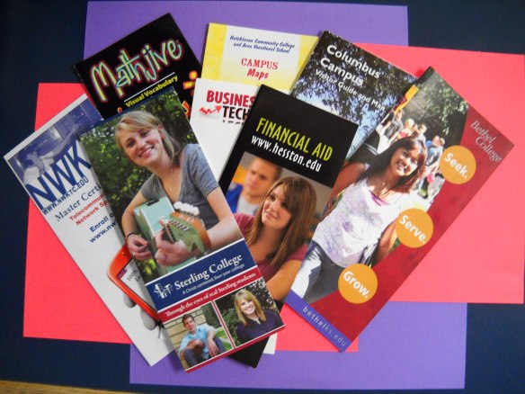 Mennonite Press, Inc. - Spread of College/University Brochures